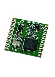 RFM69HCW-868S2, модем 868МГц FSK/GFSK/MSK/GMSK/OOK SPI