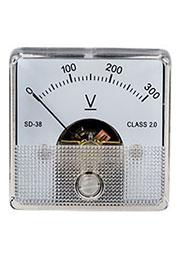 SD-38 300VDC, измерительная головка 0-300В.постоянного тока