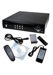 W3-D2204BW, 4-х канальное DVR записывающее устр-во для системы видеонаблюдения