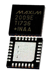 MAX2009ETI+, 1200MHz to 2500MHz Adjustable  RF Predistorter, QFN28
