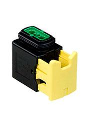 3-1418448-2, корпус розетки HDSCS 2/3конт.(тип MCP1.5)