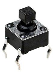 0673HIM-130G-G, кнопка тактовая 6х6 h=7.3мм (аналог SWT-20-7.5)