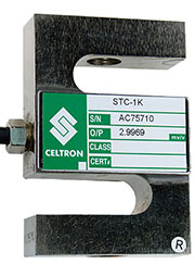 STC-1K, STC-1000lb, 1000 фунтов (453 кг),стальной, класс St, тензодатчик