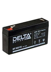 DT 6015, аккумулятор 6В 1.5Ач 97х25х51