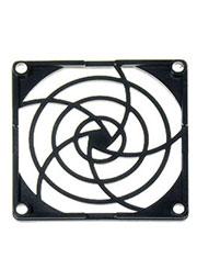 K-PG08J-4PA, решетка пласт.для вентилятора 80х80мм