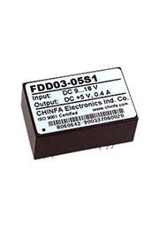 FDD03-05S1, DC-DC  9-18V/ +5V,400mA
