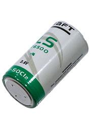 LS26500, батарейка SAFT3.6В, литий, (LR14), 1 шт.