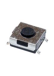 1-1437565-6, FSM1LP тактовая кнопка с заземлением