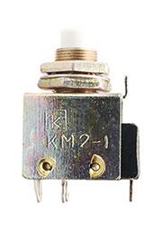 Микропереключатель кнопочный КМ2-1,  (20-21г.)