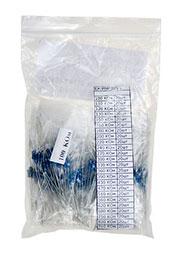EK-RMF025/6, Набор резисторов MF025,сотни кОм, 24 номинала по 20шт