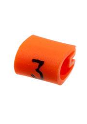 EC0183-000, 05811303, маркер  3  на кабель 2-3.2мм оранжевый