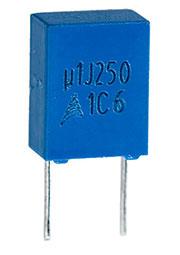 B32529C3104J, конденсатор пленочный 0.1 мкФ 250 В 5%