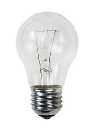 60A1/CL/E27, Лампа  60Вт, прозрачная, цоколь E27, D=50mm