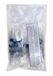 EK-RMF025/4, Набор резисторов MF025,единицы кОм, 24 номинала по 20шт