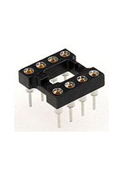 1437539-6, панелька для микросхем TRS-8 DIP цанговая (2-1571552-2 808-AG11D-ESL)