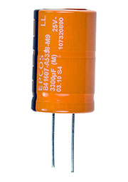B41607A5338M9, конденсатор электролитический 3300мкФ 25В 125гр (К50-35)