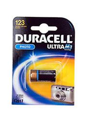 DL123A, батарейка DURACELL3В, Ultra, литий, 1 шт.