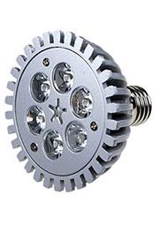 FEX161 E27, 6x1W 220В лампа светодиодная, цвет теплый белый