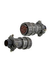 2PM22-4TKQB2, розетка на кабель 4 контакта (аналог 2РМТ22КПН4Г3В1В)