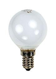 25D1/FR/E14, Лампа  25Вт, сферическая матовая, цоколь E14