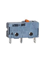 1478602-1, микропереключатель без рычага, solder terminal