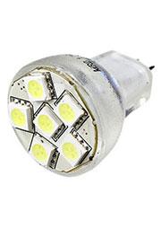 ECOSPOT MR8-6BN-12V WHITE, лампа на светодиодах 6шт smd 5050