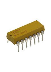 4114R-1-100, 7x10 Ом резисторная сборка изол. DIP-14