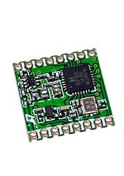 RFM69HCW-433S2, модем 433МГц FSK/GFSK/MSK/GMSK/OOK SPI