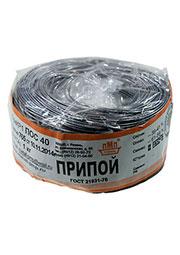 Припой ПОС40 ПРВ 1.0мм  бухта 1 кг, (17-20г)