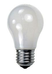 60A1/FR/E27, Лампа  60Вт, матовая, цоколь E27, D=50mm