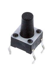 1-1825910-4, тактовая кнопка 6х6 h=9.5 мм (FSM8JH)