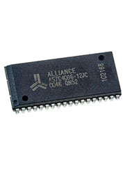 AS7C4096-12JC, 512Kx8 CMOS SRAM    SOJ