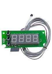 STH0024UR-V3, встр.цифр.,термостат,с выносн датч.,.красн.,-55+125