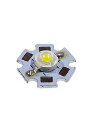 ARPL-STAR-3W-BCX45HB, светодиод SMD белый 3Вт на плате STAR,