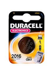 DL-2016, батарейка DURACELL, BC1, дисковая литий, 1 шт.