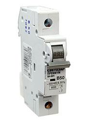 SV-49011-50-B, Автоматический выключатель 1 полюс.50А, отключ.сп. 6кА
