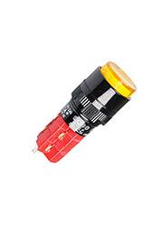 D16LAR1-2ABKY, Переключатель кнопочный с фиксацией 250В/5А LED подсветка 24В