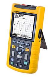 FLUKE 123/S, двухканальный осциллограф 20МГц