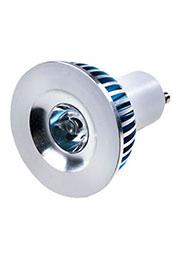 FEX101 GU10, 1x3W 220В лампа светодиодная, цвет теплый белый