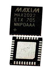 MAX2022ETX+, модулятор 1800МГц, Ind, THIN QFN36