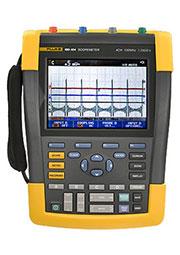FLUKE 190-104, четырехканальный осциллограф цветной 100МГц