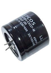 B43504C5227M, конденсатор электролитический 220мкФ 450В 105гр