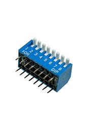L-KLS7-DP-08-B-00, DIP переключатель 8 поз.уг.90 (аналог SWD3-8)