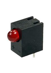 L-710A8CB/1ID, светодиод красный d=3мм 25мКд