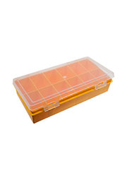 К2412, коробка-органайзер, 240х130х50мм, 12 ячеек, прямоуг.