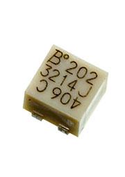 3214J-1-202E, 2 кОм подстроечный резистор 5 об.