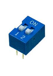 L-KLS7-DS-02-B-00, DIP переключатель 2 поз.(аналог SWD 1-2 ВДМ 1-2)