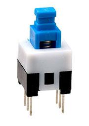 MPS-700N-G, кнопка без фиксации 7.0мм 30В 0.3А (PS700N)