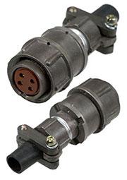 2PM18-4TKQB2, розетка на кабель 4 контакта (аналог 2РМДТ18КПН4Г5В1В)