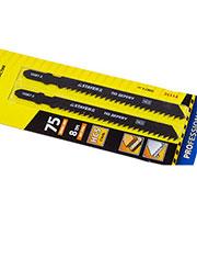 15987-3_z01, Пилки для электролобзика по дереву,HCS, EU-хвост,шаг 3мм,75мм,2шт